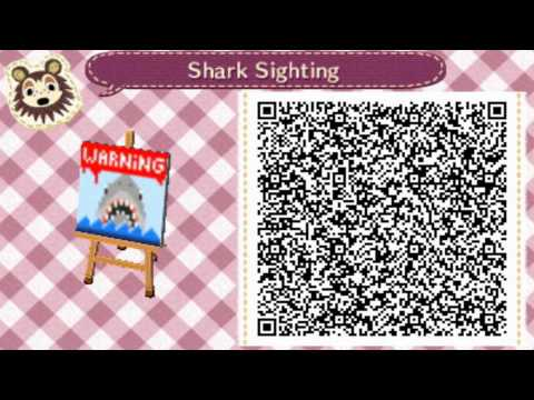 Qr Codes Animal Crossing New Leaf Misc Patterns Vol 1 Youtube