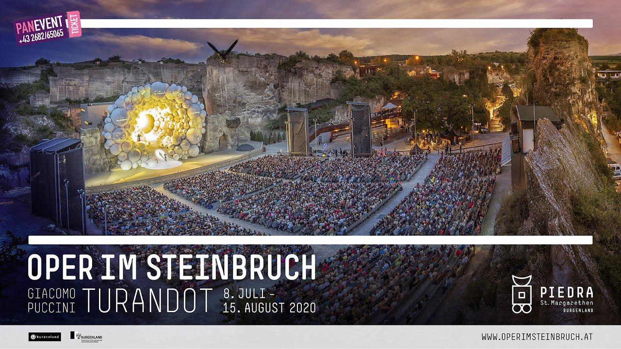 Preview Turandot in der Oper im Steinbruch 2020 - YouTube