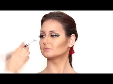 Mahlagha Jaberi Makeup Tutorial By Hanan Bilal