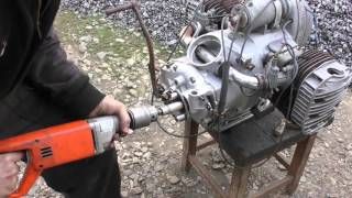 Download Ч 2.Мотоцикл из запчастей.Двигатель с разборки   Днепр-12 (К-750 ,М-72 ,МВ-750) Mp3 and Videos