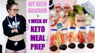 STARTING THE KETOGENIC DIET | My Keto Macros & 1 Week of Keto Meal Prep