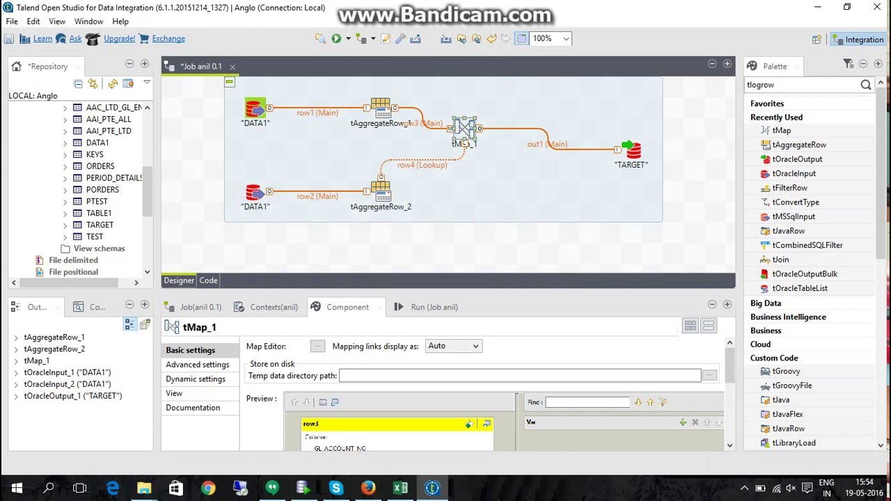 How to use Lookup in Talend with tmap perfectly