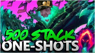 Stormrazor Buffed ✓ E Buffed ✓ One Shots ✓ - Dark Harvest Thresh ADC