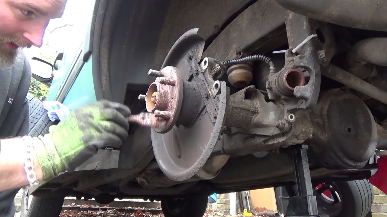 Lodal Front Axle Brake Shoes : Range rover p rear brake discs and pads youtube