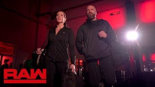 Triple H and Stephanie McMahon train for WrestleMania: Raw, March 26, 2018