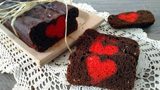 Plum cake di San Valentino - Valentine's day plum cake