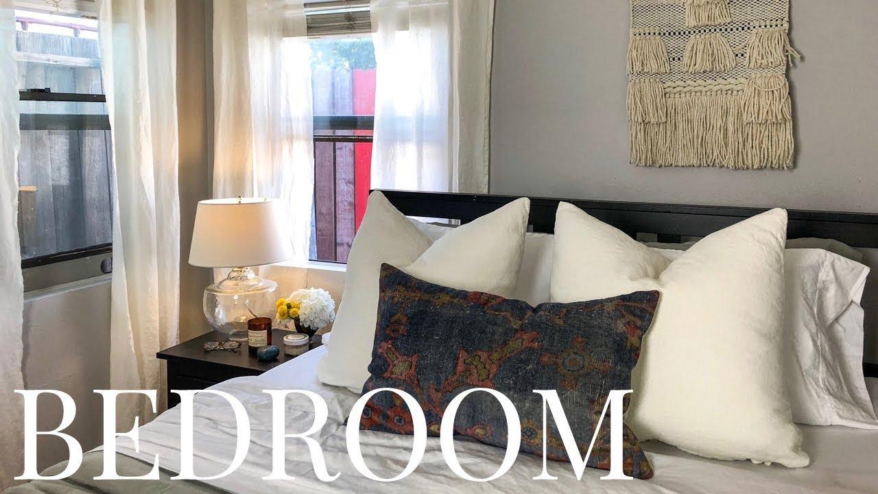 Budget Bedroom Makeover -- BEFORE & AFTER