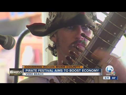 Vero Beach Holds Pirate Festival