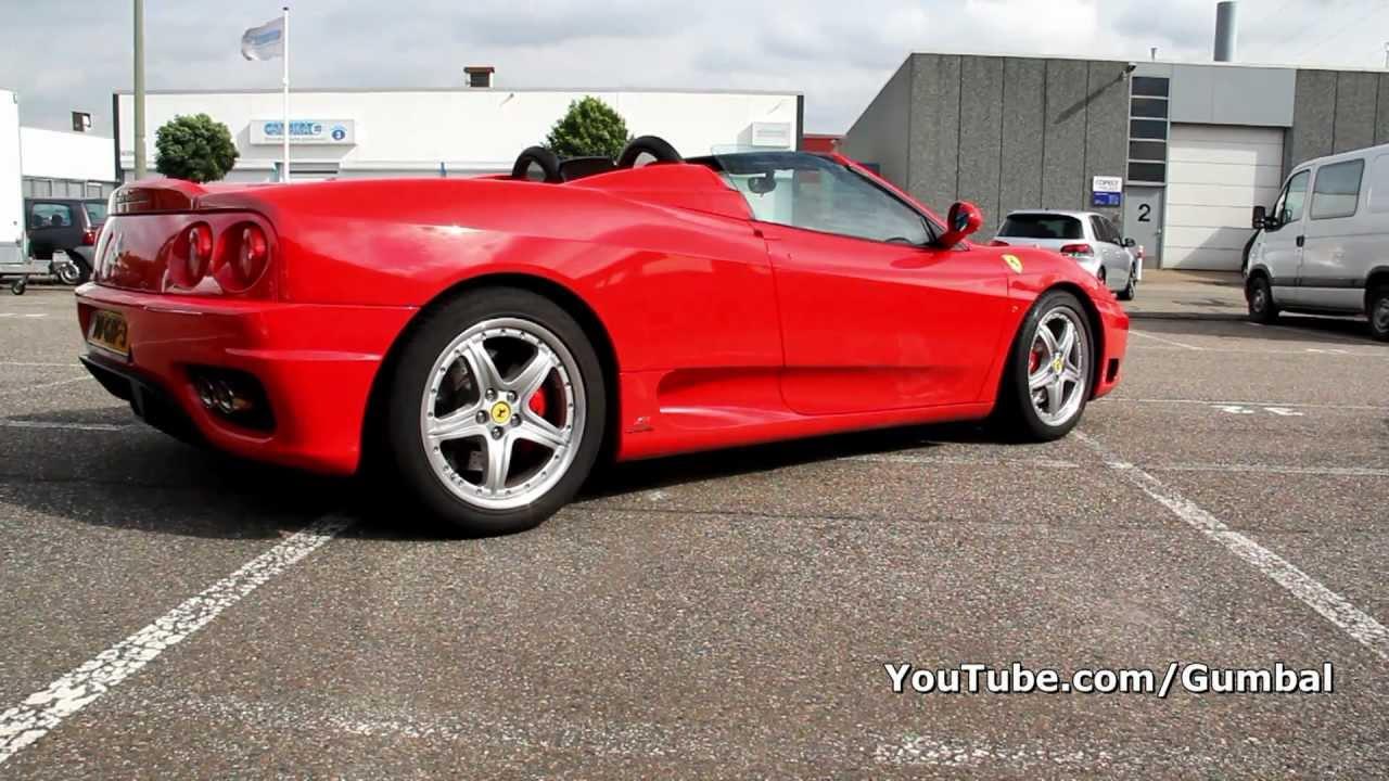 Ferrari 360 Spider F1 Driving Scenes!! 1080p HD - YouTube