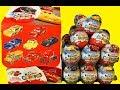 Тачки 3 Киндер Сюрприз Новая Коллекция Машинки Дисней Kinder Surprise Cars 3