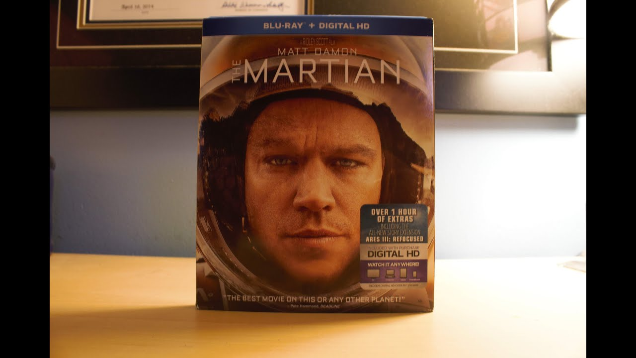 Download The Martian - Blu-ray Unboxing
