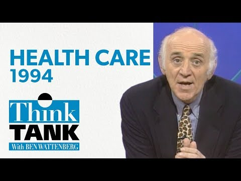Is Health Insurance A Right? — with John Goodman (1994) | THINK TANK