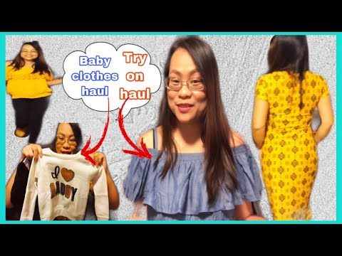 [VIDEO] - (Try on- haul + baby clothes | aileenkrellvlog? 1