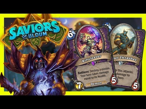 THE NEW ZOO WARLOCK | Saviors of Uldum | Hearthstone