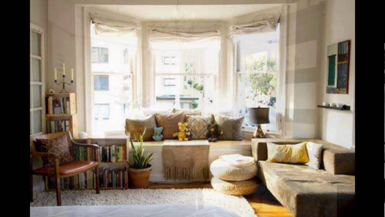 bay window treatments - YouTube