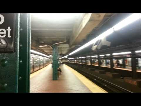 125th Street Subway Station (A,B,C,D lines. Harlem, Manhattan NYC 2014)