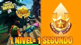 """EASTER EGG"" HOW TO GET **1 LEVEL IN 1 SECOND** in FORTNITE - CHALLENGES WEEK 5"
