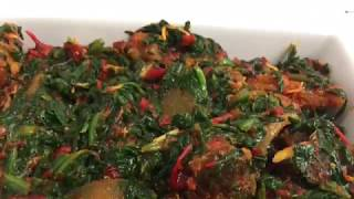 HOW TO MAKE EASY AND YUMMY EFO RIRO