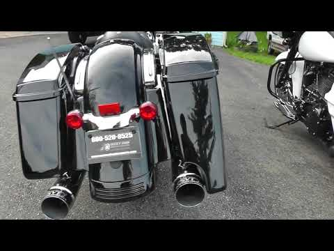 Color Matched Stretched Rear Fender Extension For '14-Up Harley Davidson  Touring Models with Tri-bar Lights (Click for Colors)