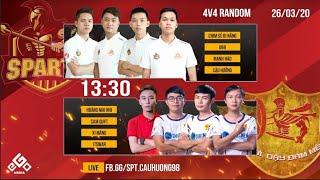 C3   Sparta vs Hà Nam   4vs4 Random   26-03-2020