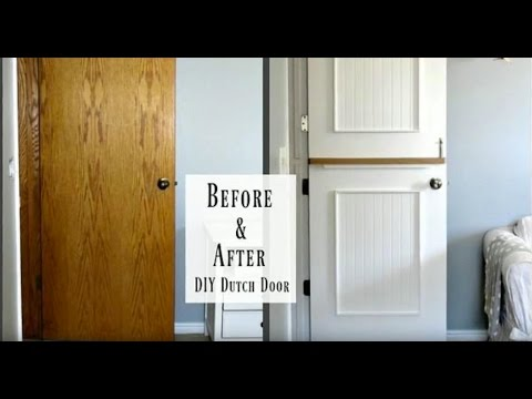 Ryobi Nation Presents Diy Dutch Door By My Altered State Youtube
