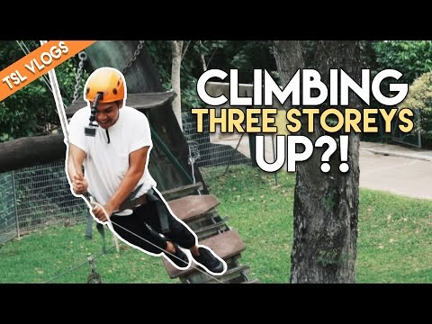 CONQUERING OUR FEARS AT OUTWARD BOUND SINGAPORE! | TSL Vlogs