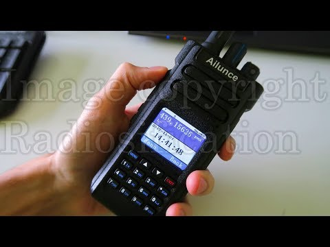 First look: New Ailunce HD1 dual band DMR radio!
