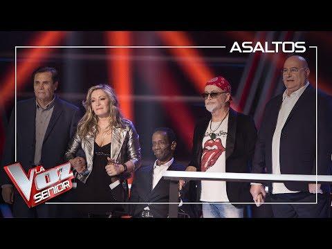 Paulina Rubio Escoge A Los Talents Semifinalistas | Asaltos | La Voz Senior Antena 3 2019