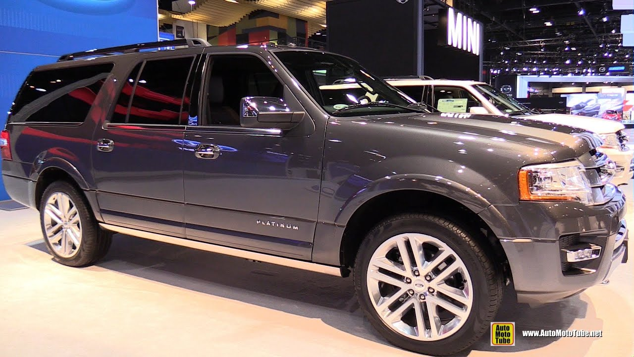 2015 Ford Expedition Platinum El Exterior And Interior Walkaround