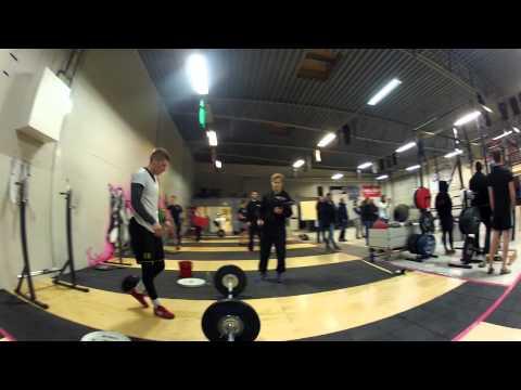 CrossFit Open 13.4 - Robert Norberg Vs. Johan Johansson @ CrossFit Kalmar
