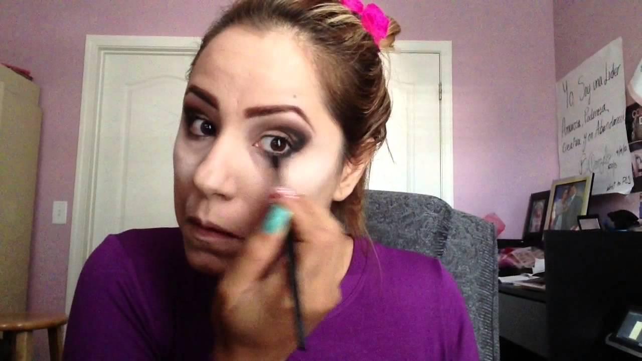 bb686ad61 Como puedo hacerme un Maquillaje Profesional desde tu casa. Ojos Ahumados  en dorados