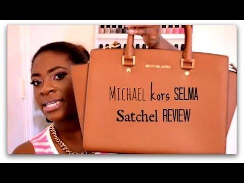 31a5644eaa14 Michael Kors Selma Satchel Review - YouTube