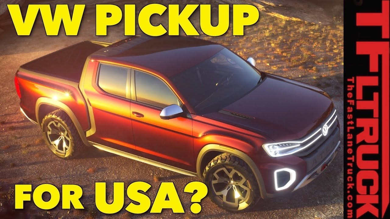 Will They Build The Vw Atlas Tanoak Concept Truck Everything You Wanted To Know