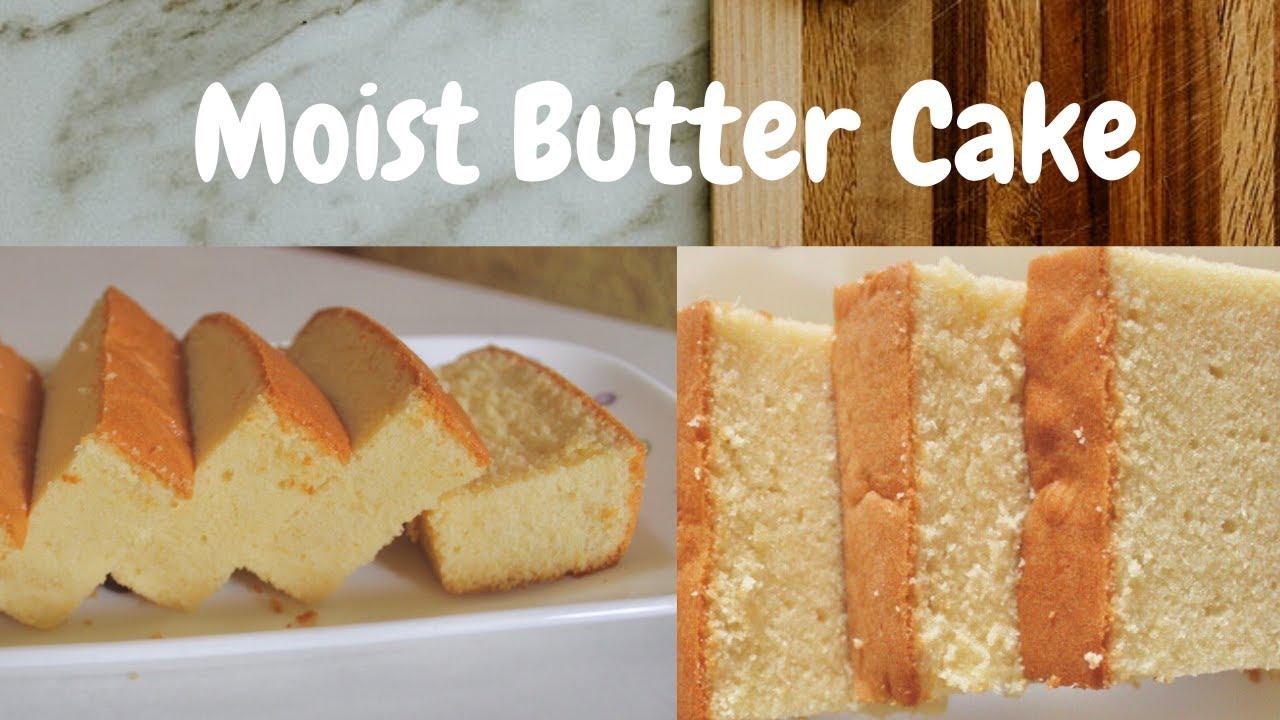 Moist Butter Cake Resepi Kek Mentega Moist Dan Harum Super Easy Recipe For A Beginner Baker Youtube