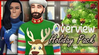 The Sims 4: Free Holiday Pack + Update {Over View}