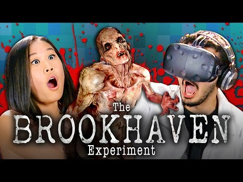 VR ZOMBIES! THE BROOKHAVEN EXPERIMENT | HTC Vive (Teens React: Gaming)