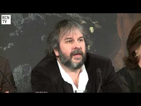 The Hobbit Royal Premiere Director Peter Jackson Interview
