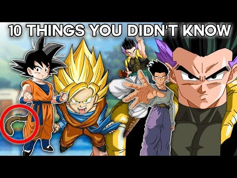 10 Things You Didn't Know About Goten (Probably) - Dragon Ball Super