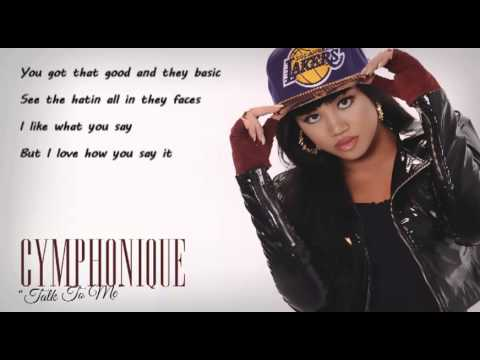 Talk To Me - Cymphonique (lyrics)