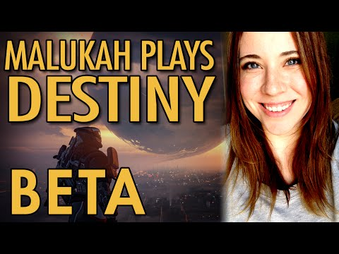 Malukah Plays Destiny Beta