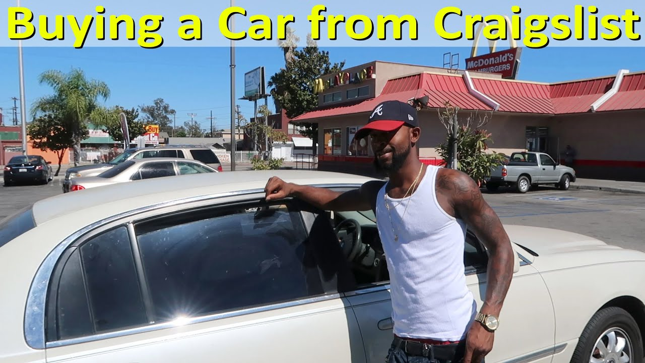 How To Buy A Car On Craigslist Real Example Youtube