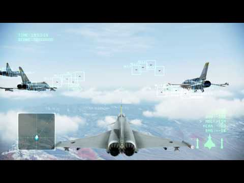 Area B7R | Mission 7 | Ace Combat Infinity [1080p 60fps]