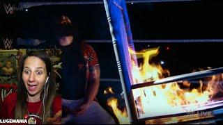 WWE Raw 3/9/15 Undertaker responds to Bray Wyatt !!