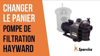 Comment changer le panier de votre pompe de filtration ?