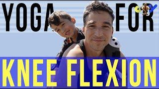 Tips -  Yoga for knee flexion by Jon Witt