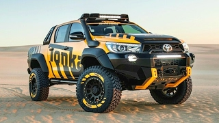 Toyota Hilux 2017 Tonka Concept - our childhood dreams come true with a life-sized Tonka Truck