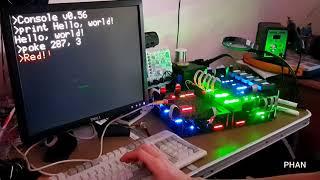 Enrique Phan's eight-bit discrete logic computer