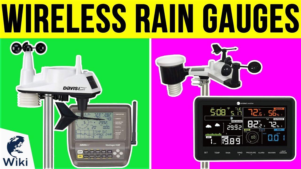 Wireless Rain Gauge Dual Display RainWise Rainew-W
