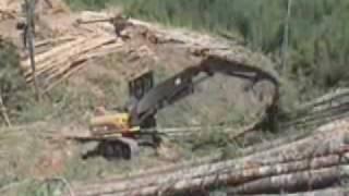 Cat® 330D Forest Machine (FM) Shovel Logger