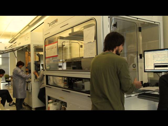 Take a tour of USC's stem cell research center
